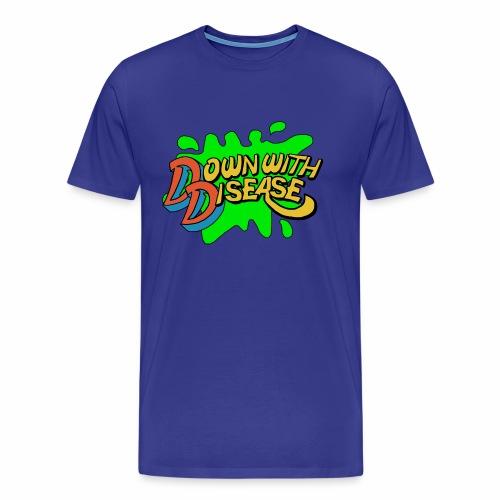 Down With Disease Men's T-shirt (premium) - Men's Premium T-Shirt