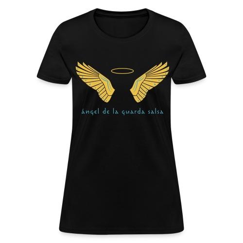 Ángel de la Guarda Salsa Women's Black - Women's T-Shirt