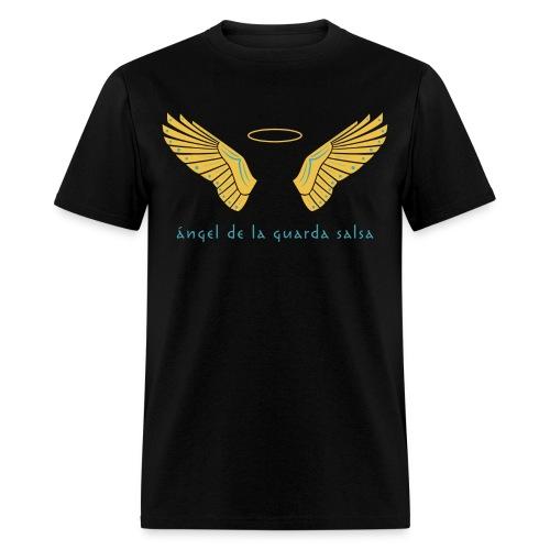 Ángel de la Guarda Salsa Men's Black - Men's T-Shirt