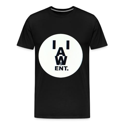 Logo Letters Long Shirt - Men's Premium T-Shirt