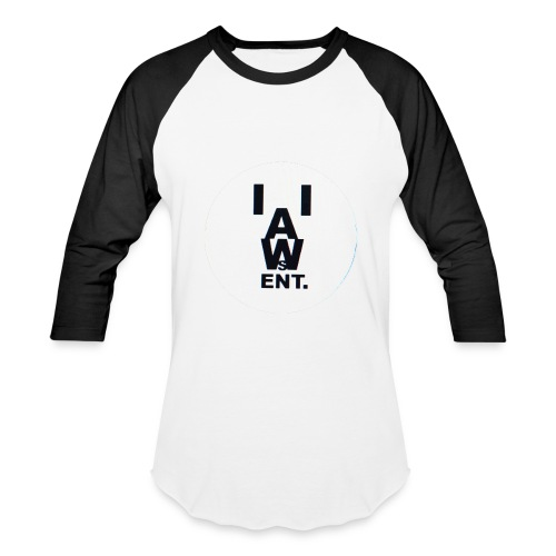 Logo Letters Open Forearm Sleeve Shirt - Baseball T-Shirt