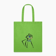 Canvas Tote Bag - Dancing Couple