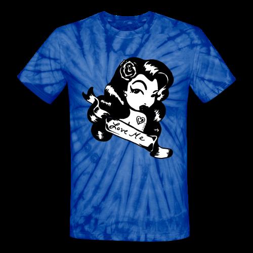 Love Me - Unisex Tie Dye T-Shirt