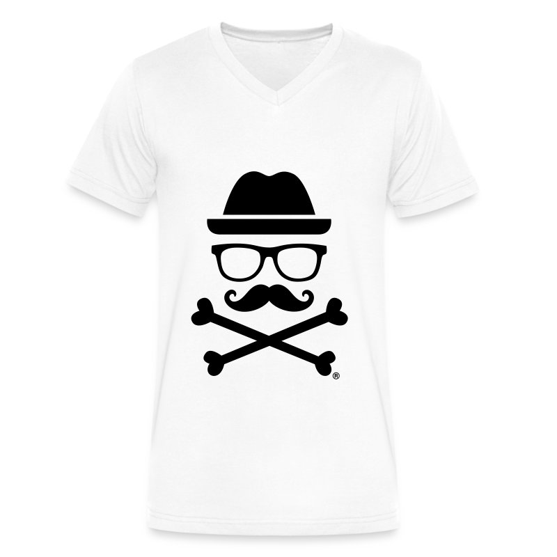 Mr. TOXICO Official - Men's V-Neck T-Shirt by Canvas