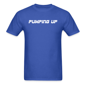 Pumping up - Men's T-Shirt