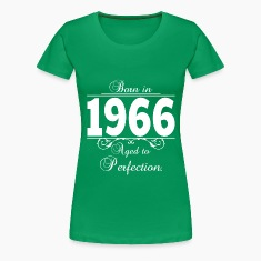 Born in 1966 Birthday Women's T-Shirts