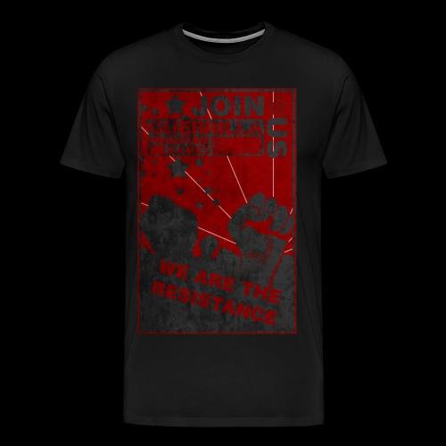 GMG Resistance Tee - Titan Edition - Men's Premium T-Shirt