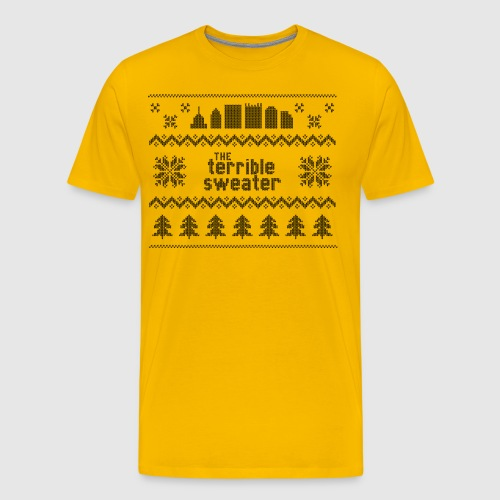 Terrible Sweater - Men's Premium T-Shirt