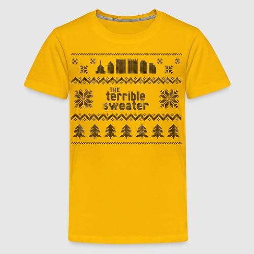 Terrible Sweater - Kids' Premium T-Shirt