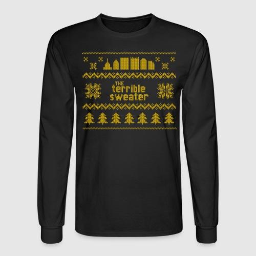 Terrible Sweater - Men's Long Sleeve T-Shirt