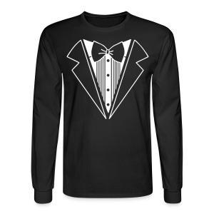 Suit Shirt - Men's Long Sleeve T-Shirt