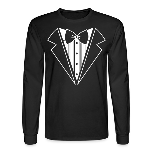 Suit Shirt - Men's Long Sleeve T-Shirt