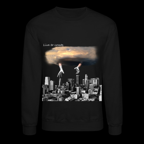 city black - Crewneck Sweatshirt