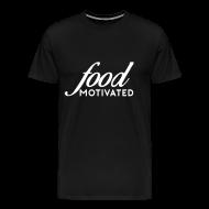 T-Shirts ~ Men's Premium T-Shirt ~ Food Motivated - Mens