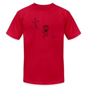 Fuck being perfect... - Men's Fine Jersey T-Shirt