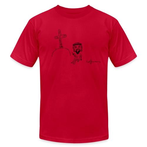 Fuck being perfect... - Men's  Jersey T-Shirt