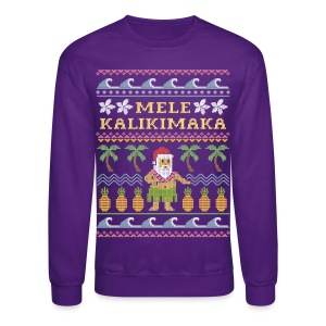 Mele Kalikimaka Ugly Christmas Sweater - Crewneck Sweatshirt