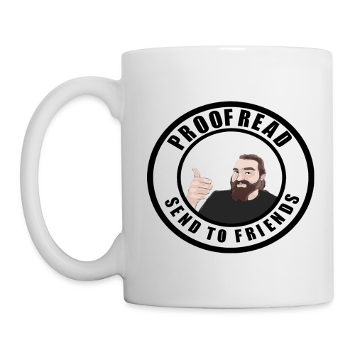 Send to Friends - White - Coffee/Tea Mug