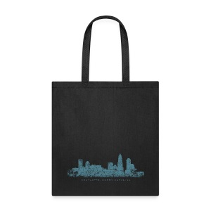 Charlotte, North Carolina Skyline Bag - Tote Bag