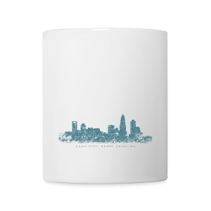 Charlotte, North Carolina Skyline Cup - Coffee/Tea Mug