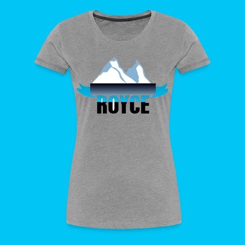 WOMEN ROYCE T-SHIRT - Women's Premium T-Shirt