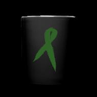 Mugs & Drinkware ~ Full Color Mug ~ Medical Marijuana Ribbon