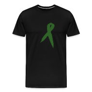 T-Shirts ~ Men's Premium T-Shirt ~ Medical Marijuana Ribbon