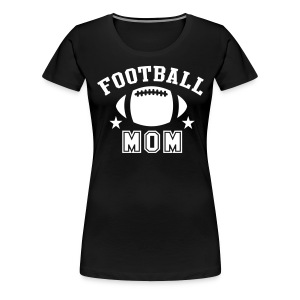 Football Mom - Women's Premium T-Shirt
