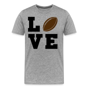 Love football - Men's Premium T-Shirt