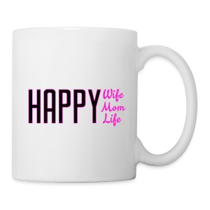 Happy Life mug - Coffee/Tea Mug
