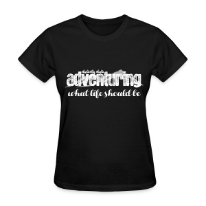 Adventuring White - Women's T-Shirt