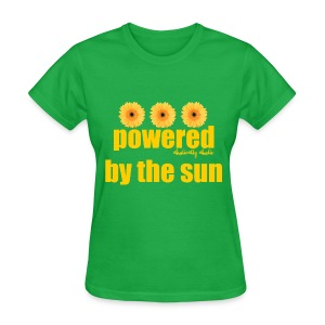 Powered by the Sun Yellow - Women's T-Shirt