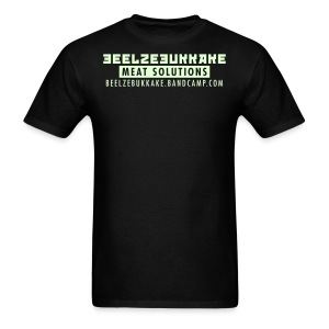 Meat Solutions Glow-in-the-Dark Shirt - Men's T-Shirt