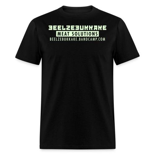 Meat Solutions Glow-in-the-Dark Shirt - Men's T-Shirt