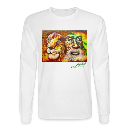 Men's Lion Long Sleeve - Men's Long Sleeve T-Shirt