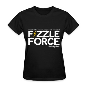 Fizzle Force 2 White - Women's T-Shirt