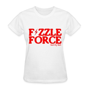 Fizzle Force 1 Red - Women's T-Shirt
