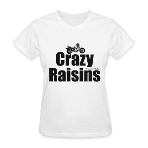 Crazy Raisins Black - Women's T-Shirt