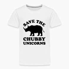 SAVE THE CHUBBY UNICORNS Baby & Toddler Shirts