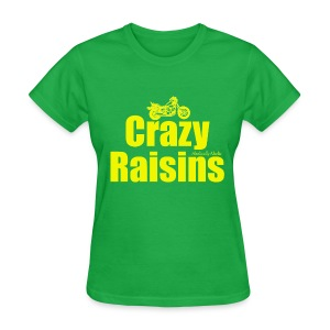 Crazy Raisins Yellow - Women's T-Shirt