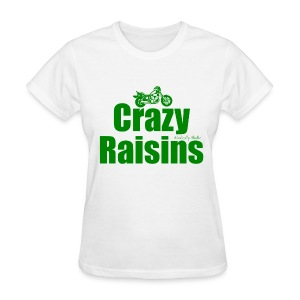 Crazy Raisins Green - Women's T-Shirt
