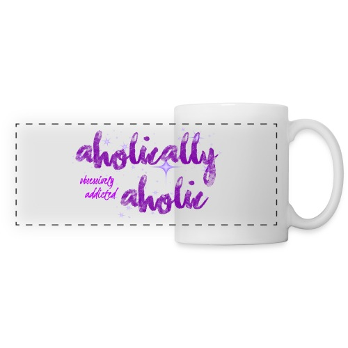 Aholically Aholic Mug - Panoramic Mug
