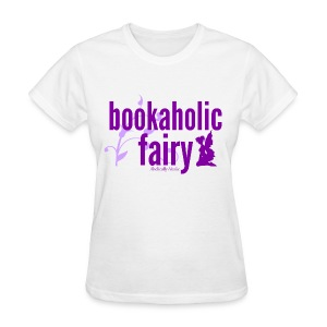 Bookaholic Fairy Purple - Women's T-Shirt