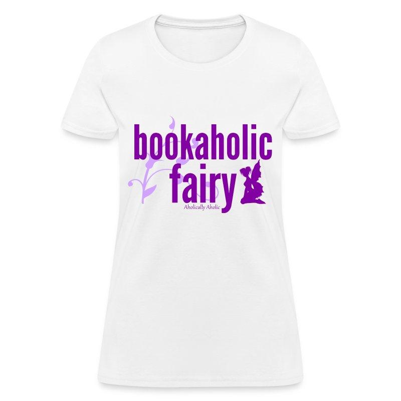 Bookaholic Fairy Purple - Women's T-Shirt