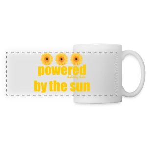 Powered by the Sun Mug - Panoramic Mug