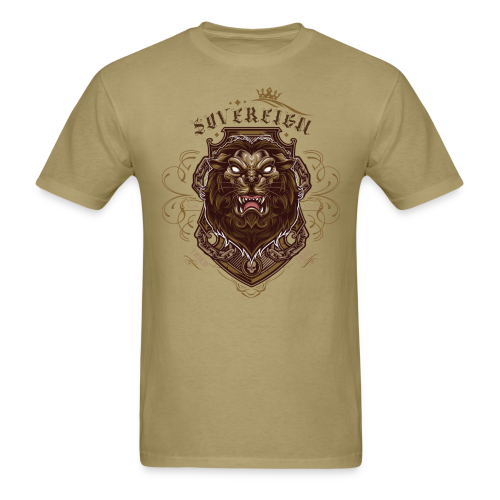 Sovereign Lion-color - Men's T-Shirt