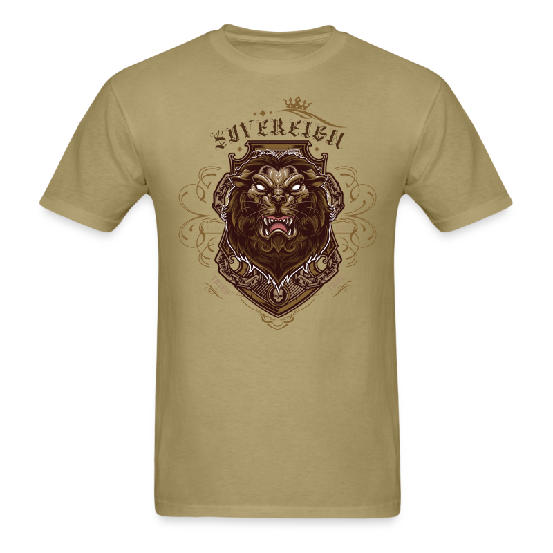 Sovereign Lion-color - Men's T-Shirt