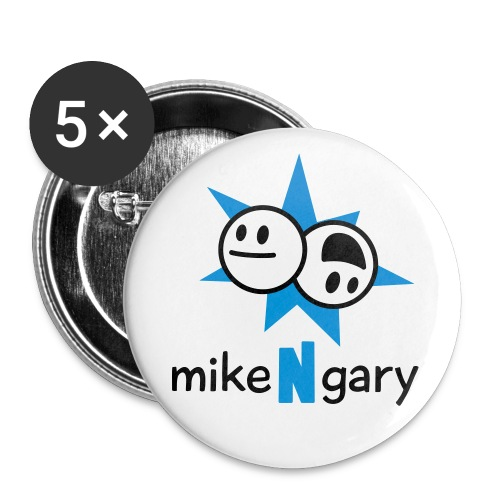 mikeNgary Logo - Large Buttons