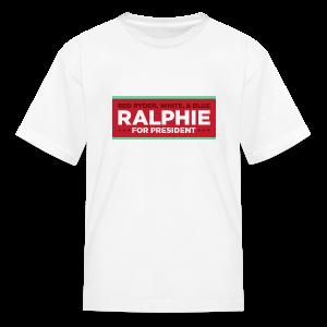 Christmas Story - Ralphie for President - Kids' T-Shirt