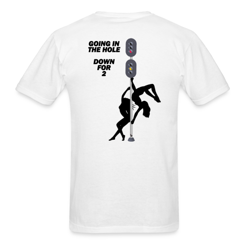 GOING IN THE HOLE - Men's T-Shirt